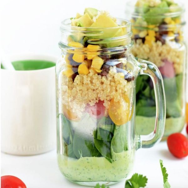 10 Delicious Mason Jar Salads for Back to School or Work