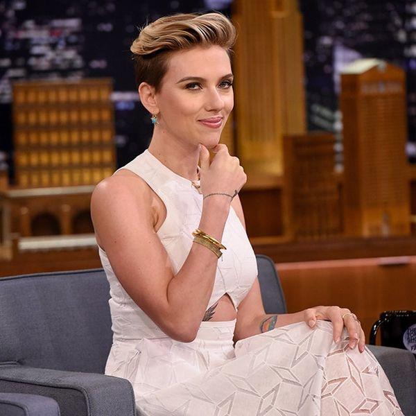 UPDATE: While You Were Watching the VMAs an Inspiring 2014 Scarlett Johansson Photo Resurfaced