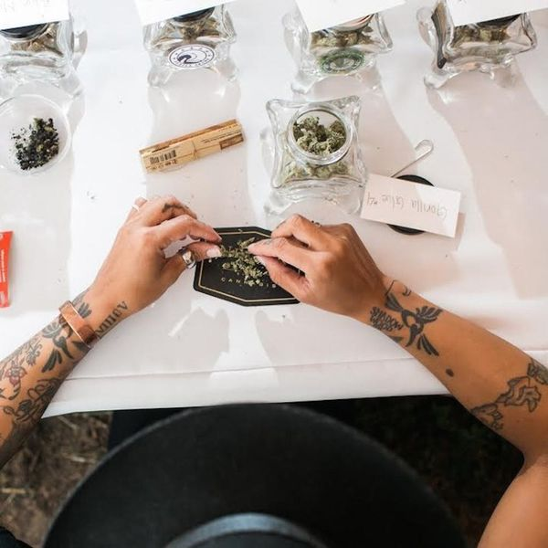 """Open Bars Are Out. """"Budtenders"""" Are the New Trend at Weddings"""