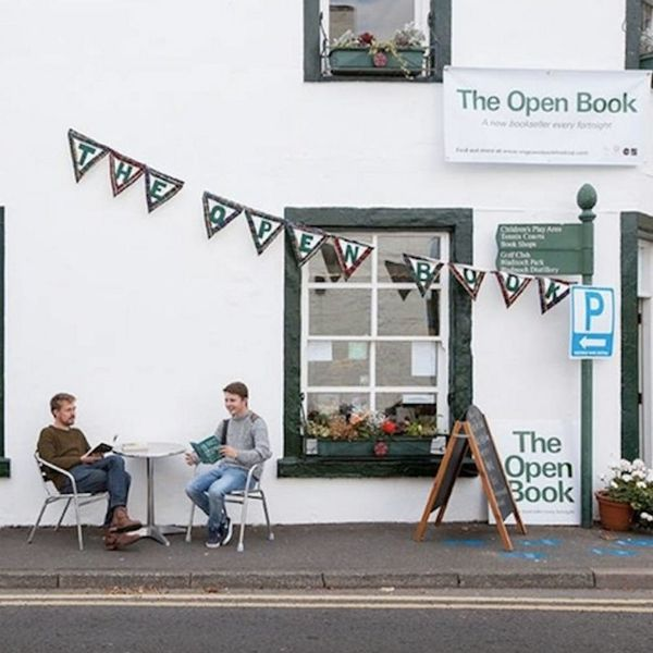 This Airbnb in Scotland Defines #VacationGoals for Book Lovers