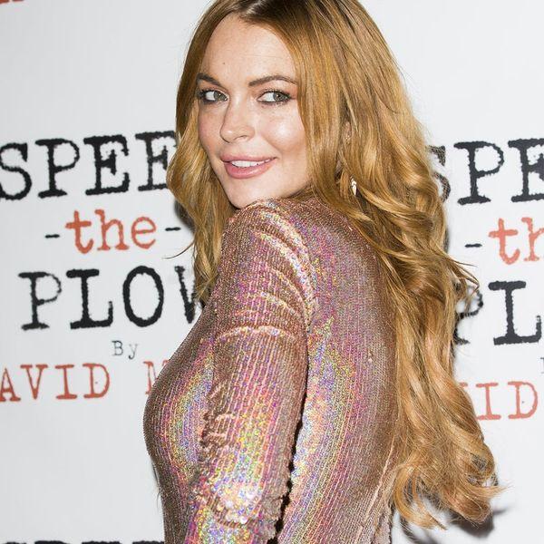 Lindsay Lohan Just Broke This Major Wedding Guest Rule