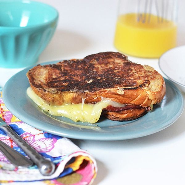 You'll Want to Save This Crazy Grilled Cheese Recipe for Brunch