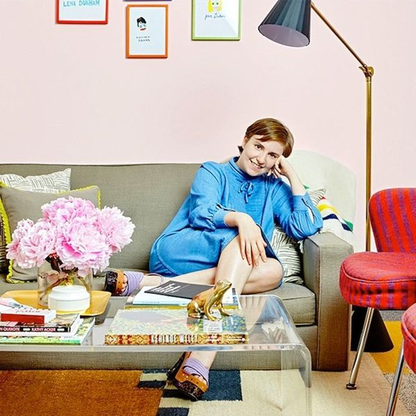 Lena Dunham's Dressing Room Is Full of DIYs You'll Want to Hack