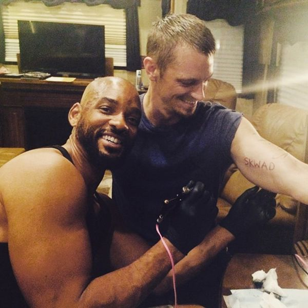 #SquadGoals = This Movie Cast All Got Tattoos Together