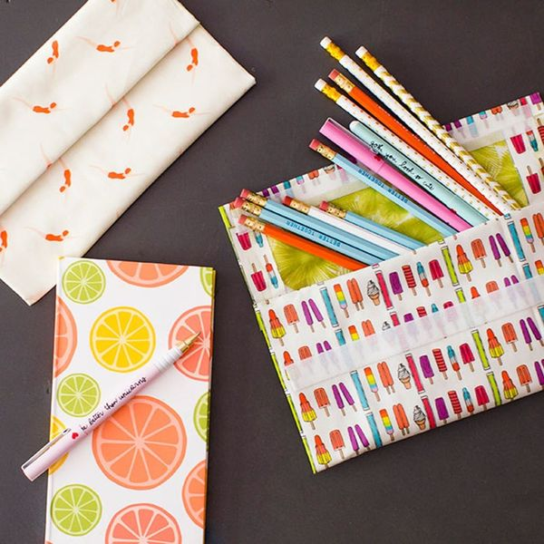 no-sew pencil pouch