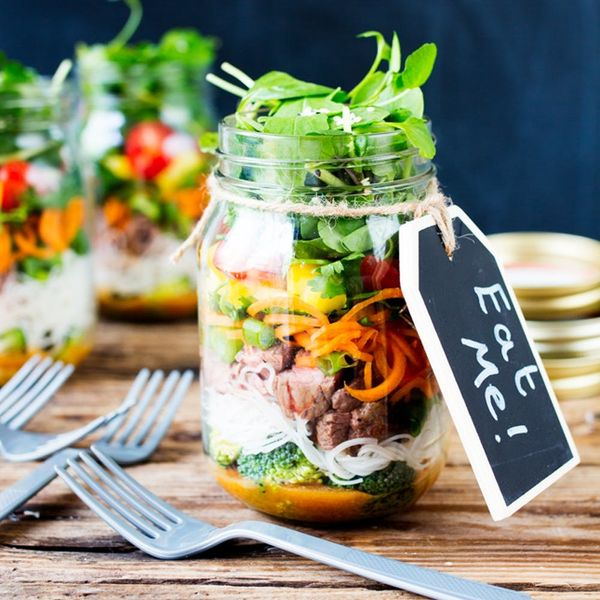 Your Next Lunch Needs This Thai Salad in a Jar Recipe