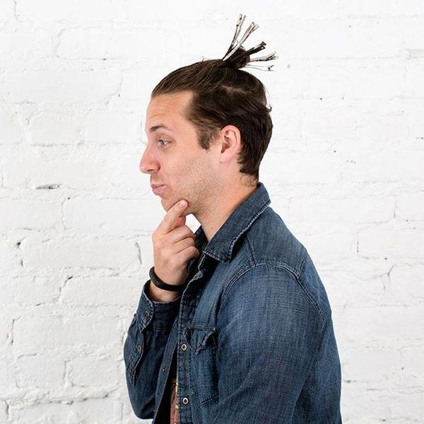 Growing My Man Bun, Week 3: How to Train Your Hair to Grow