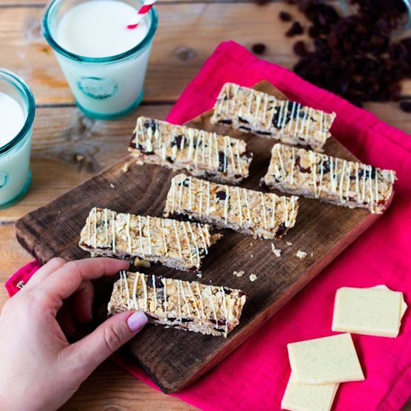These No-Bake Granola Bars Are the Perfect After-School (or Work!) Snack