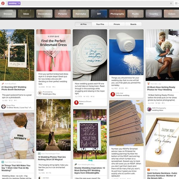 Why Brides Should Limit Pinterest Time + More Tips to Stay Sane During an Engagement