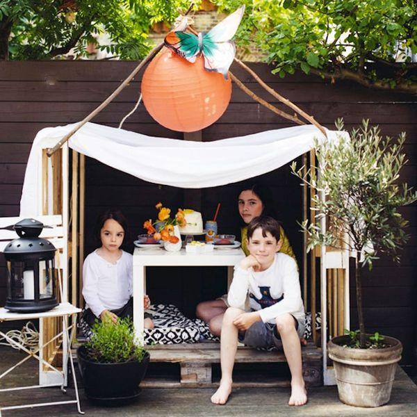 12 DIY Playhouses You Can Actually Make