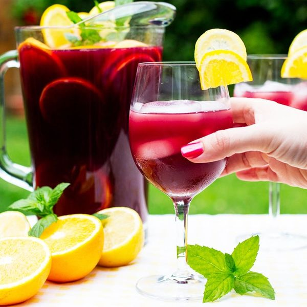 """This Is the Ultimate """"Say Bye to Summer"""" Sangria"""