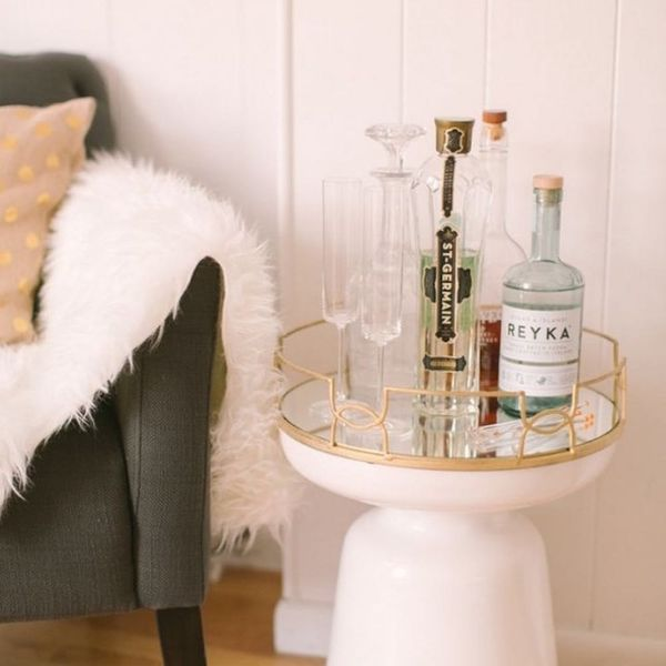 17 Unique Ways to Store Booze That Don't Include a Bar Cart