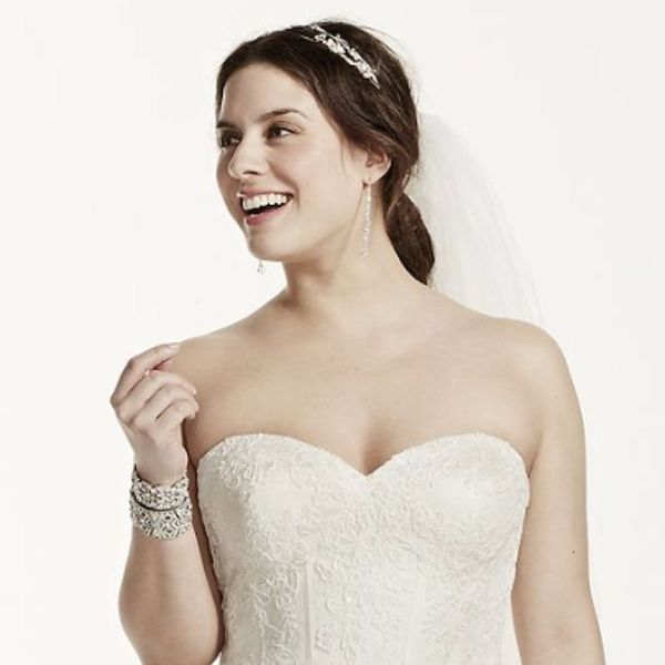 11 Dreamy Plus-Size Wedding Gowns from the Most Unexpected Place