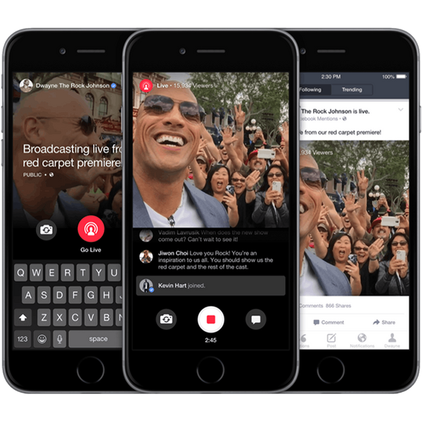 Facebook's New Update Lets Celebs Talk to You