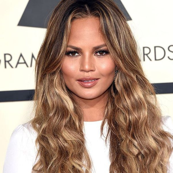 Chrissy Teigen's Hairstylist Shares How to Get + Maintain Her Layered Lob