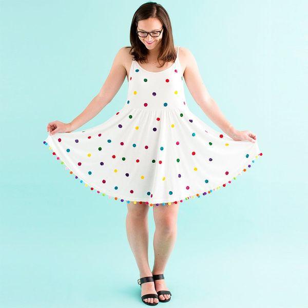 DIY This $100 Polka Dot Dress for Less Than $50