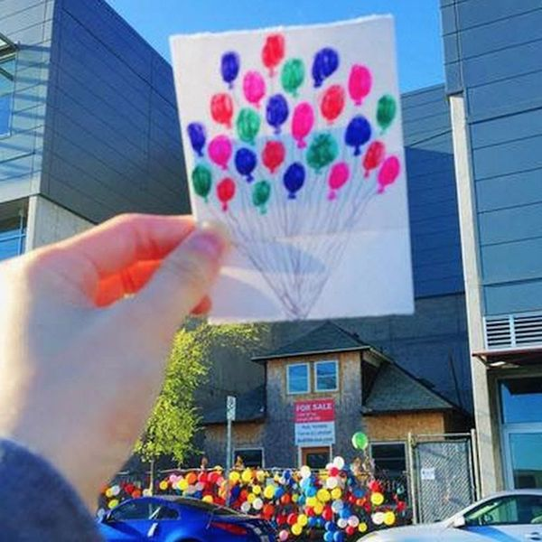 The Real-Life Up House Is Taking Flight