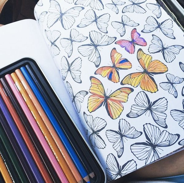 This Coloring Book Could Replace Your Weekly Yoga Classes