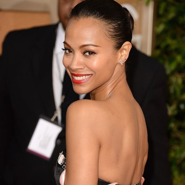 Zoe Saldana's Workout Selfie Is Starting a Movement With Moms