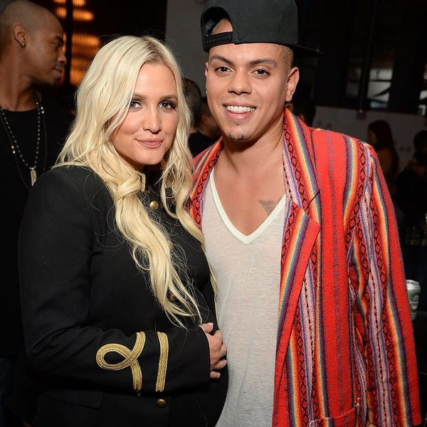 Ashlee Simpson + Evan Ross Welcome Their First Baby Together!