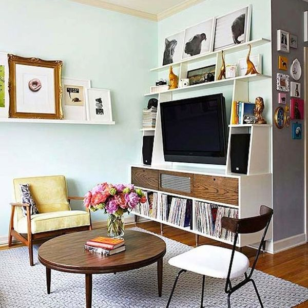 14 Stylish Ways to Fit a TV in a Small Apartment
