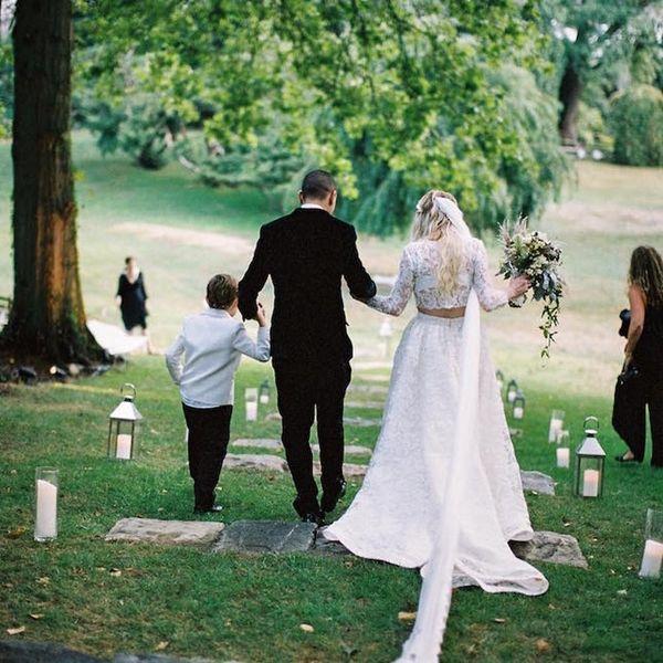See All of Ashlee Simpson's Wedding Photos for Major Boho Bride Inspo