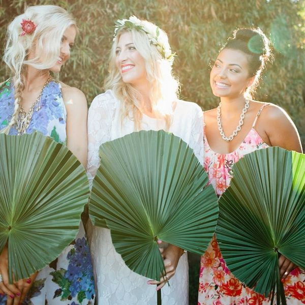 This Aloha-ThemedBridal Shower Is All Kinds of Tropical Chic