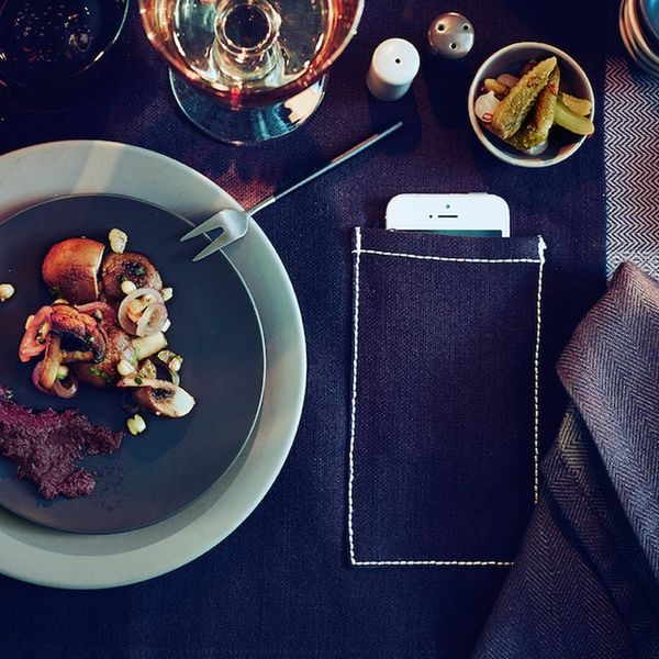 IKEA's New Placemat Won't Let You Use Your Phone at the Dinner Table