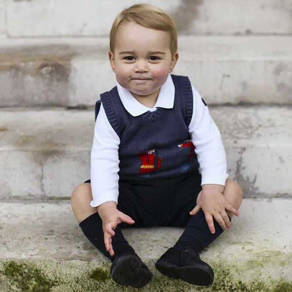 Kensington Palace Celebrated Prince George's Birthday Early With a New Photo