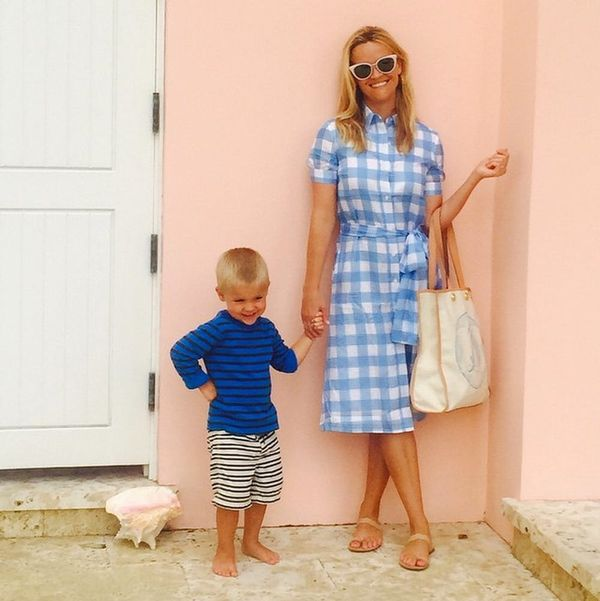 Reese Witherspoon's Son Just Schooled Us on This Style Hack