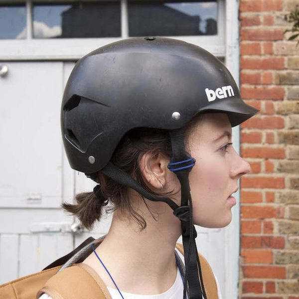 This Headphone Helmet Will Play Music Safely While You Bike