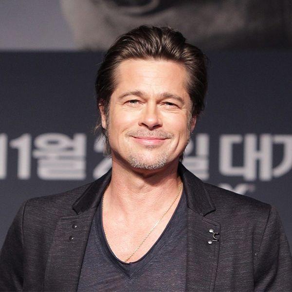 Brad Pitt Got a Sweet Tattoo to Honor His Family