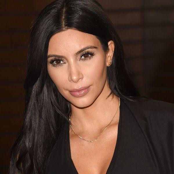 Kim Kardashian Isn't Wearing Any Makeup on Her Newest Magazine Cover