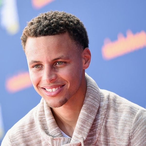 Stephen Curry Had the Cutest Date to the Nickelodeon Kids' Choice Sports Awards