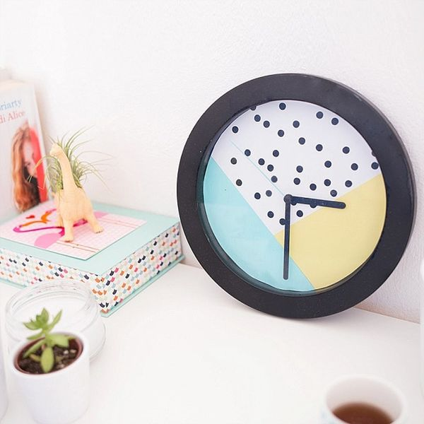 The Easiest Way to Update a Boring Old Wall Clock