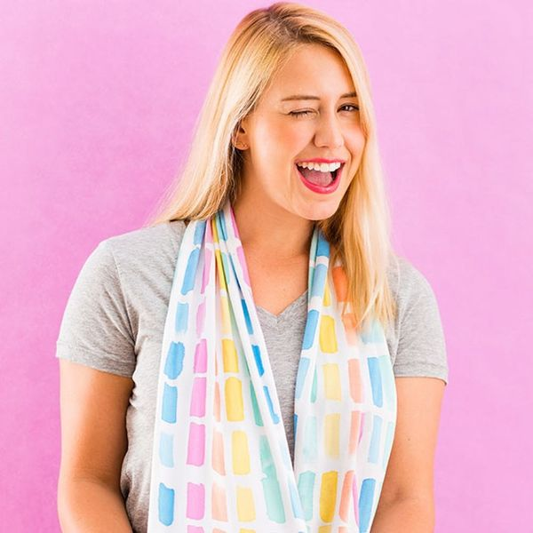 Make This Anthropologie Scarf With Only 3 Materials