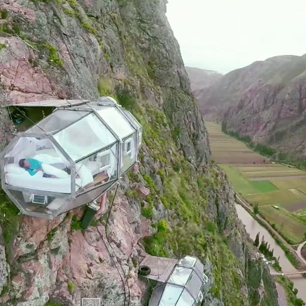The World's Most Picturesque Hotel Might Freak You Out