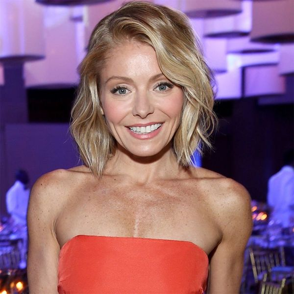 Kelly Ripa Is Now Rocking ANOTHER Rainbow Hair Color