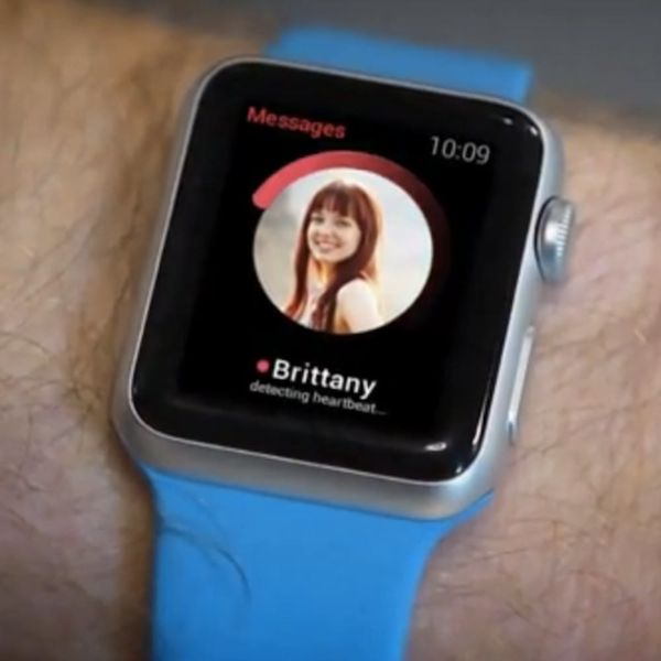 Apple Watch and Tinder Are About to Totally Change the Way You Swipe