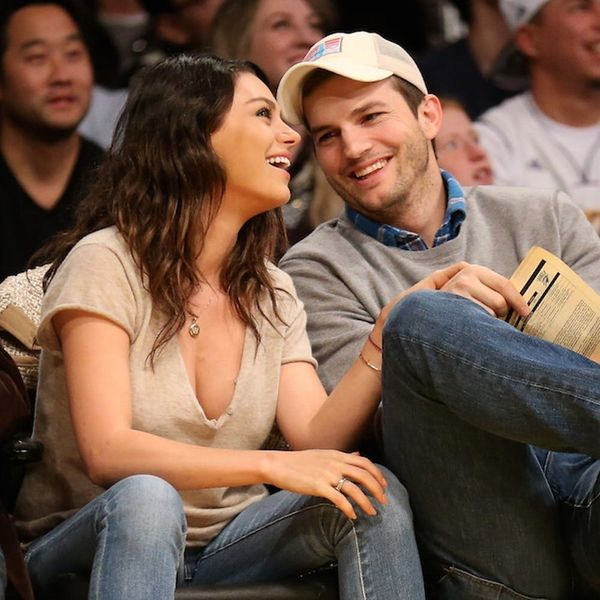 Ashton and Mila Had a Secret Wedding Over the Weekend!