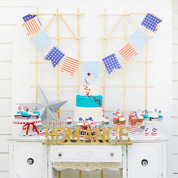 """Say """"Red, White and… I Do"""" to This July 4th Wedding Inspo"""