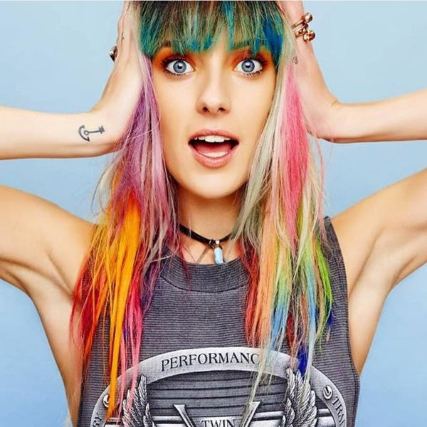 17 Rainbow Hairstyles to Wear Loud and Proud