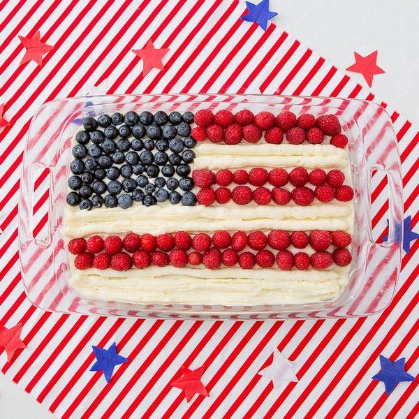 taylor swift flag cake
