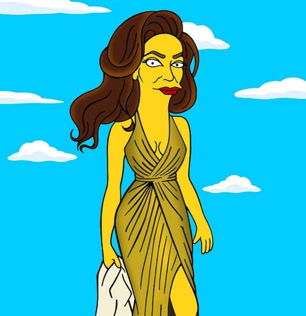 See the First Pics of Caitlyn Jenner as a Simpsons Character