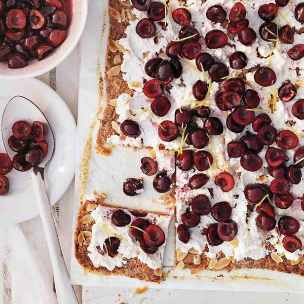 16 Sweet + Savory Cherry Recipes For Summer