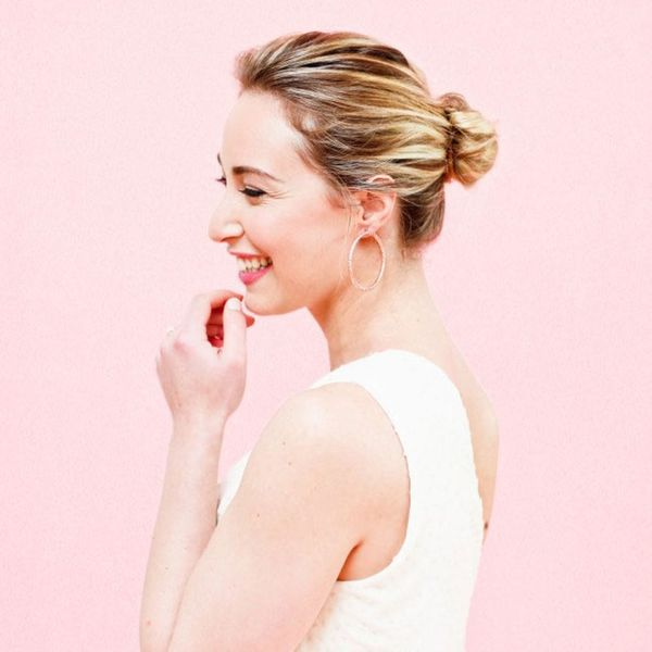 You've Been Putting Your Hair in a Bun Wrong This Whole Time