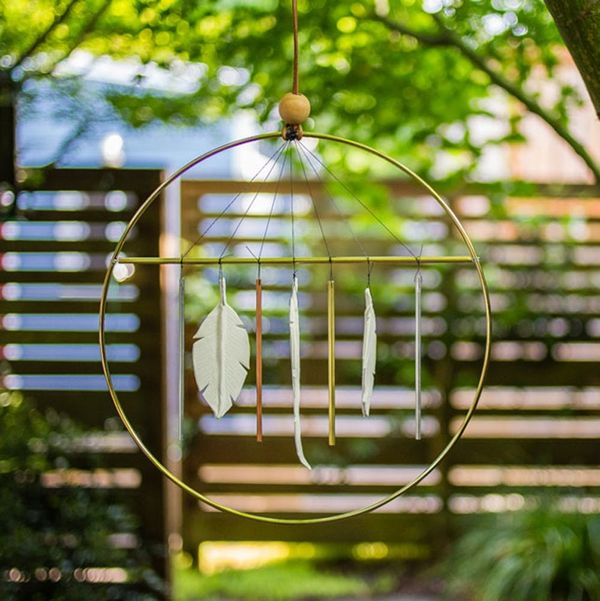 Your Friends Will Never Believe You Made This Gorg Wind Chime for $20