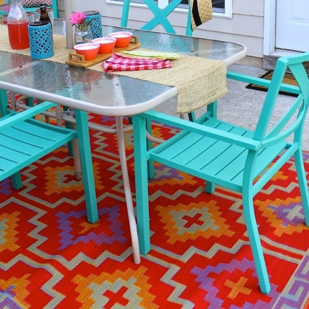 16 Ways To Upgrade Your Old Patio Furniture Brit Co