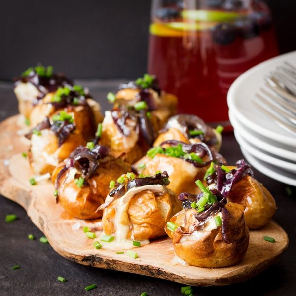 How to Make Mini Baked Potatoes for Your Next Summer Shindig