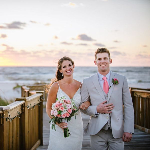 You'll Swoon Over This Seaside DIY Wedding